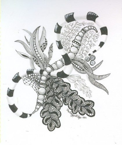 Links to Zen & Ink Zentangle Page